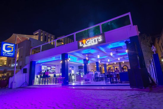 Lights bar picture of gt hotel boracay boracay tripadvisor gt hotel boracay lights bar greeka by prima restaurant aloadofball Image collections