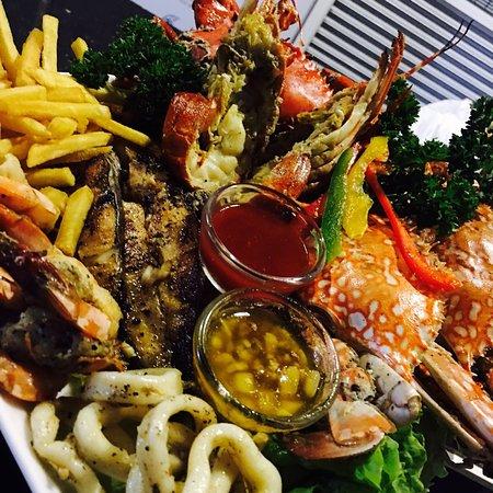 mermaid sea food platter