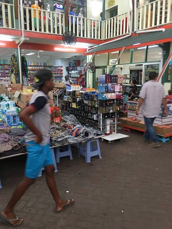 Victoria, Seychelles: A typical island fresh market