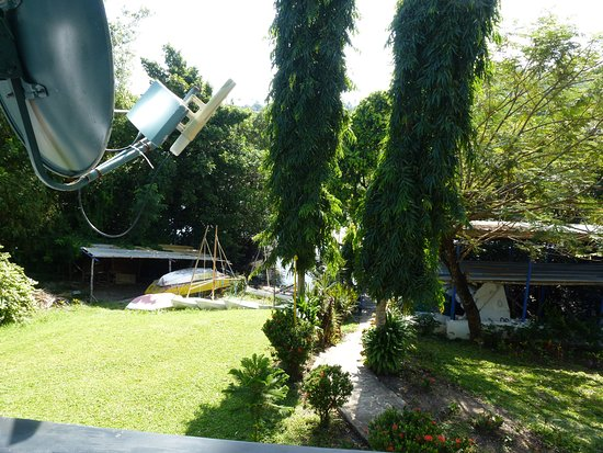 Puerto Galera Yacht Club: view from the tables