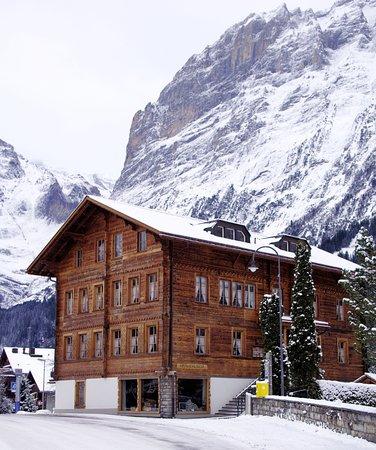 Grindelwald, Switzerland: Здание краеведческого музея Гриндельвалда.