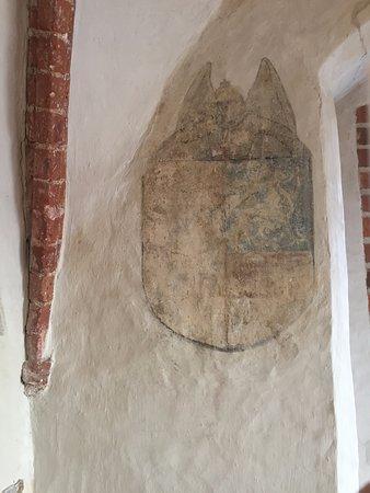Kloster Zinna, Germany: Wandmalerei 5