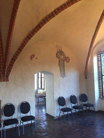 Kloster Zinna, Germany: Wandmalerei 6