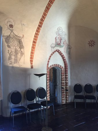 Kloster Zinna, Germany: Wandmalerei 8