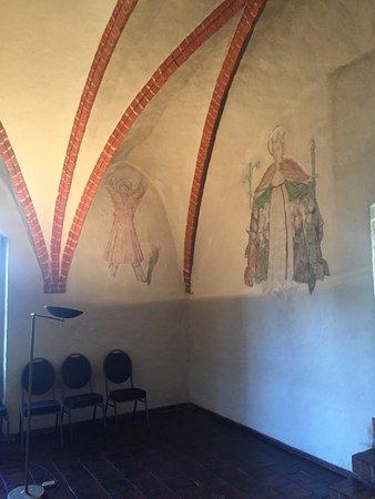 Kloster Zinna, Germany: Wandmalerei 9