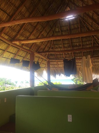 Las Salinas, Nicaragua: View from our canopy that comes w each room!