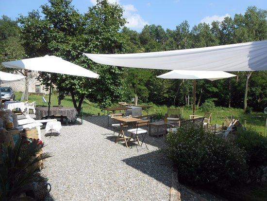 Fivizzano, Italien: Terrazza relax