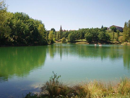 Lafrancaise, France: Lac de la vallée des loisirs de Lafrançaise