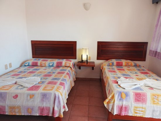 Hotel Marcianito: Basic Double (fan, twin beds)