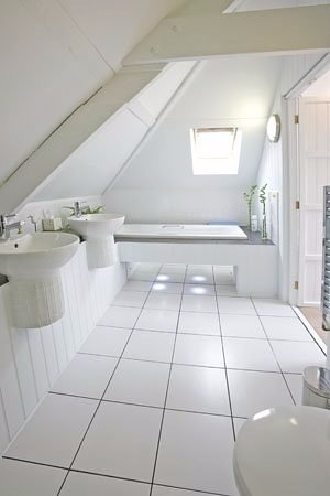 Boscastle, UK: Bathroom in room 6 Tristan