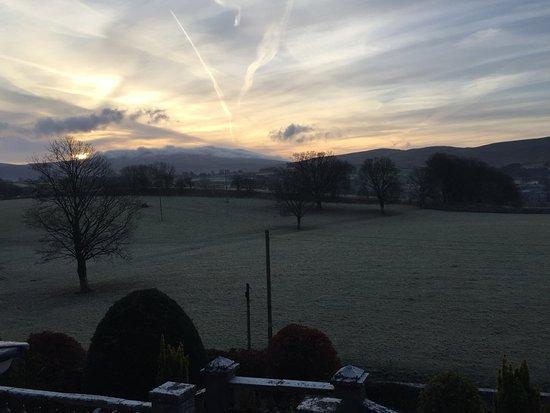 Newbiggin-on-Lune, UK: view from room 2