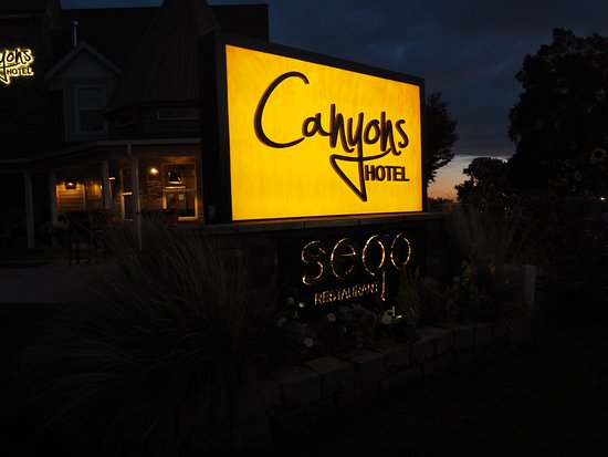 Sego is at the Canyons Hotel