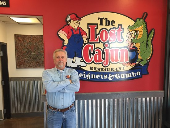 Littleton, CO: Owner and Louisiana native Greg Jones