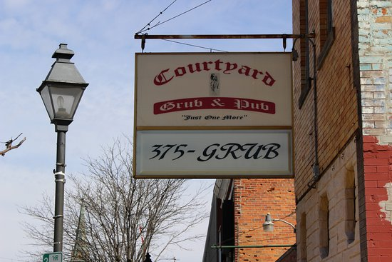 Marion, OH: Just behind the County Courthouse and open for lunch and dinner.