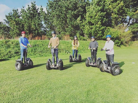 Newquay, UK: Segway Blast!!!
