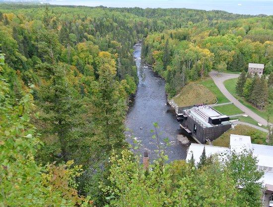 Chambord, แคนาดา: Vue de la chute