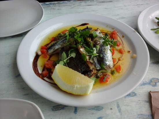 Newlyn, UK: Sardines Delight (special of the week)