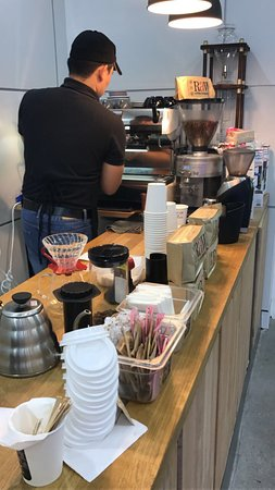 Empty Cup Cafe: As a coffee addict and the limited number of specialty coffee in Qatar, this coffee bar is givin
