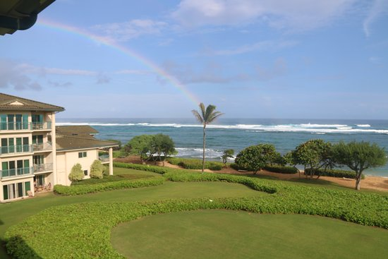 Waipouli Beach Resort: Wonderful vistas from the room