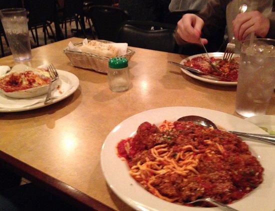 Terre Haute, IN: Spaghetti & Meatballs, Lasagna and Chicken Parmesan