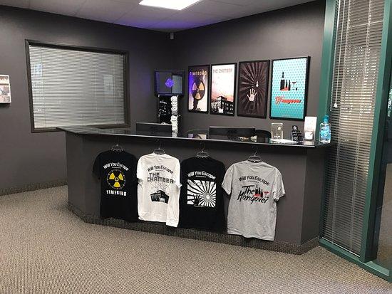Mission Viejo, Californië: Escape The Place - Escape Rooms - Orange County - Reception