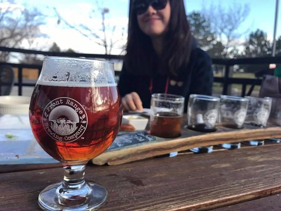 Lafayette, CO: Family time at Front Range Brewery.