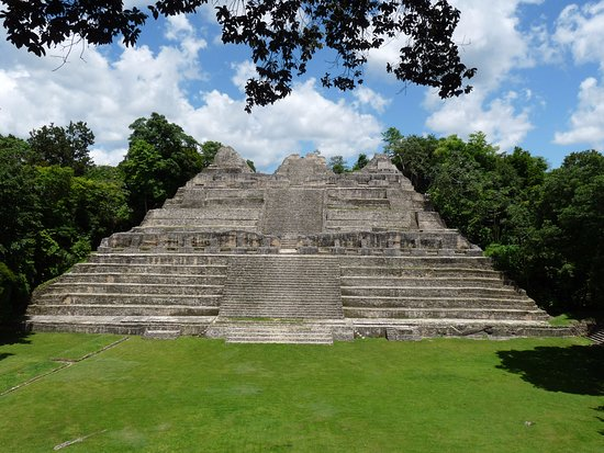 San Ignacio, Belize: Ca'ana Pyramid in Caracol, Tallest Man made structure in all Belize