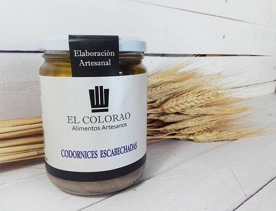 Productos típicos de Castilla La Mancha - Tienda El Arcón de Alarcón - Codorniz escabechada