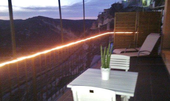 Terraza Suspendida En El Vacio Del Loft Amapola Con Vistas