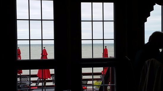 Vineland, Kanada: View from our table