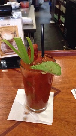 Walnut Creek, Kaliforniya: Best bloody jane as they call it. Comes hand spiced with avocado and a piece of bacon.