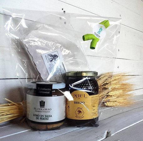 Pack regalo Productos artesanos - Tienda El Arcón de Alarcón - Idea regalo para Navidad