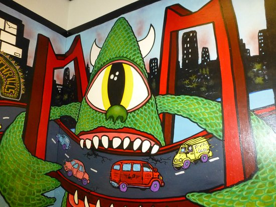 Graffiti art and ics go to her Bild von Strips Rotterdam