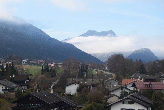 Grossgmain, Austria: View from our room on 3rd floor.