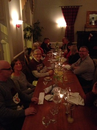 Grantown-on-Spey, UK: Highlandubbers VW Christmas Dinner.