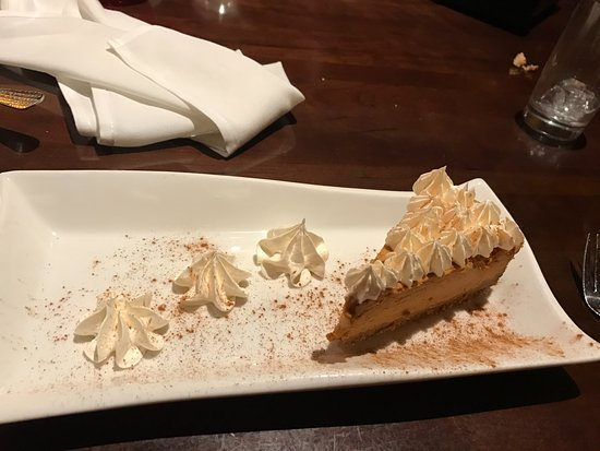 Oakley, CA: pumpkin cheesecake