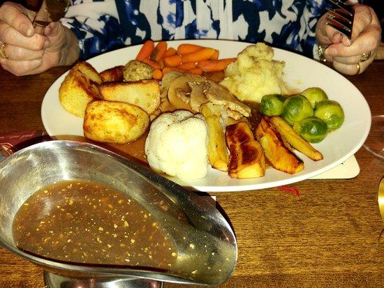Hale, UK: Xmas dinner