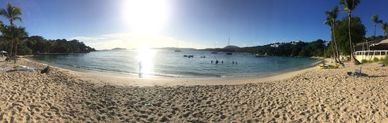 Benner, St. Thomas: Panorama Beach shot!