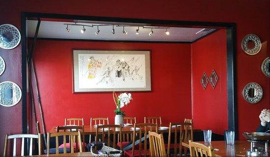 San Mateo, CA: Restaurant interior