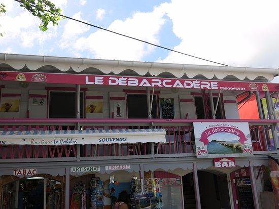 Terre-de-Haut, Guadeloupe: bienvenue au Débarcadére