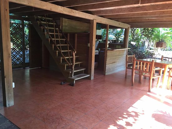 Rio Dulce, Guatemala: Bottom of a small house for about 6-8 people