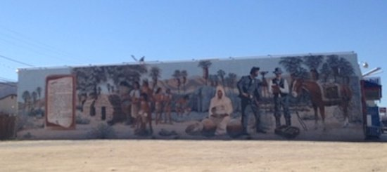 Mural in Twentynine Palms