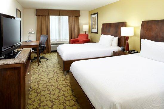 Hilton Garden Inn Tampa East/Brandon: Queen queen guestroom