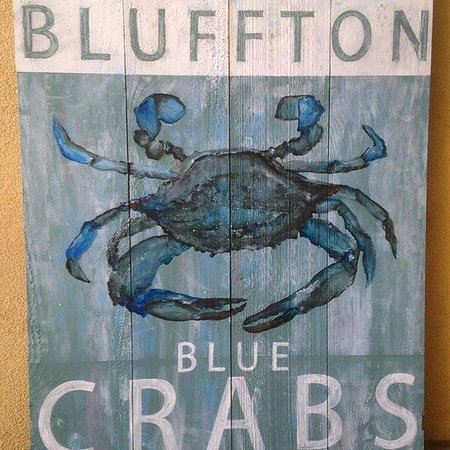 Bluffton, ساوث كارولينا: LOCAL ART WORK