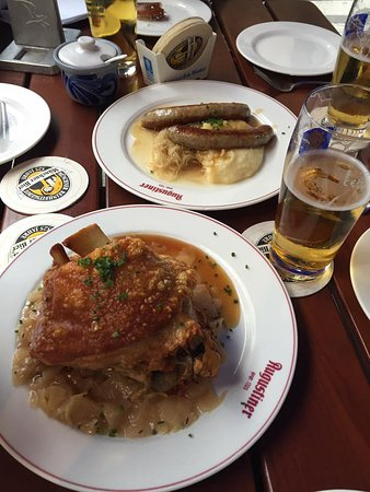 Augustiner am Gendarmenmarkt: Pork Knuckle