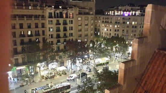 Passeig de Gràcia: View of the street from Casa Batllo
