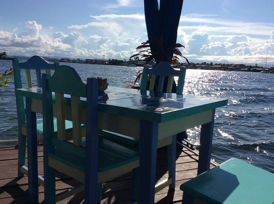 Carenero Island, Panamá: Breakfast with a view