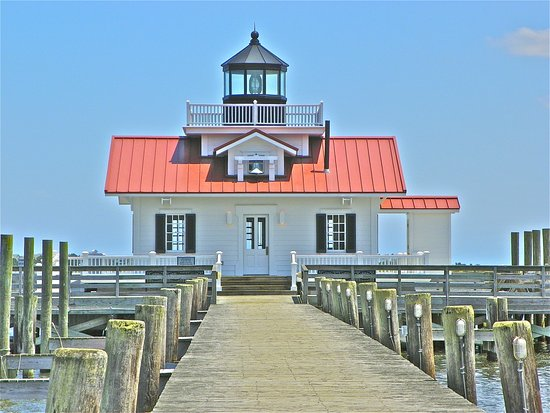 Roanoke Island, Carolina del Norte: ROANOKE MARSHES LIGHTHOUSE,NC