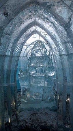 """Vysoke Tatry, Slovacchia: inside """"Ice dóm"""""""