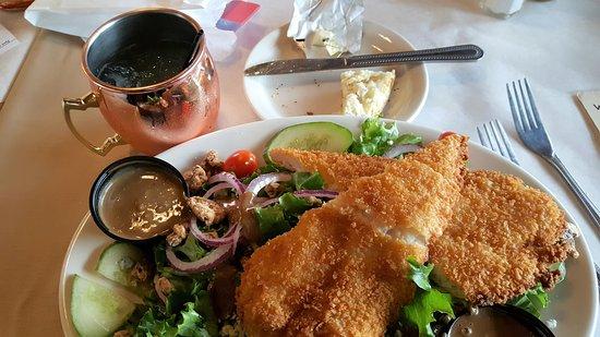 Lexington, MI: Fish 'Salad'~ Wonderful!